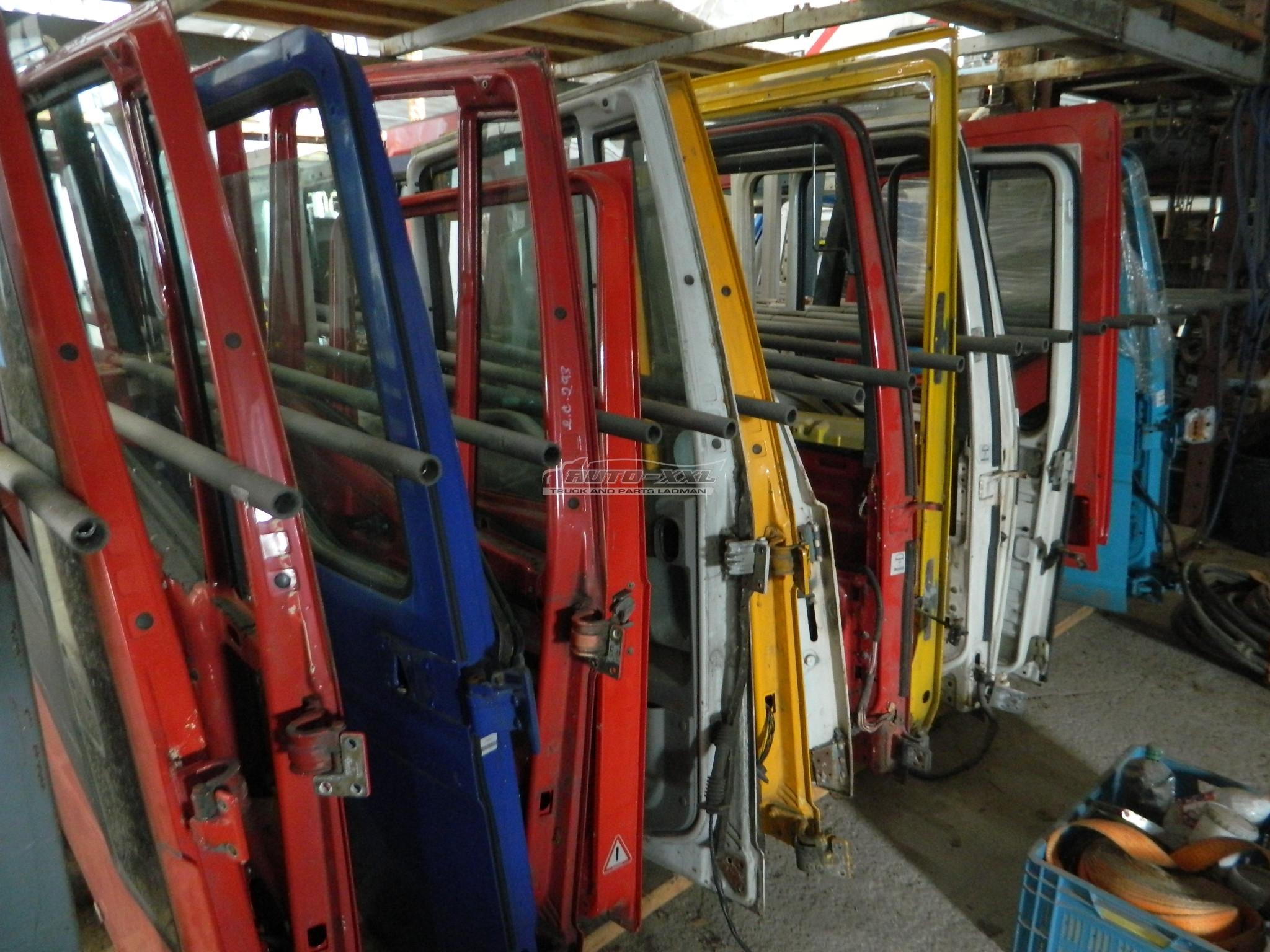 dveře - levé i pravé, velký výběr na vozy MAN, DAF, SCANIA, VOLVO, IVECO, RENAULT, MB