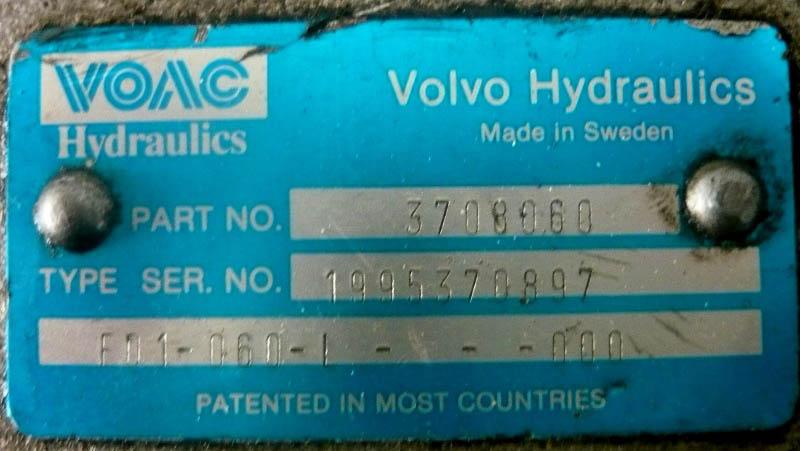 čerpadlo a pomocný pohon Volvo-1
