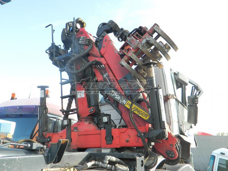 Hydraulický nakládací jeřáb + kontejner HNJ-EPSILON-PALFINGER M110Z95TR